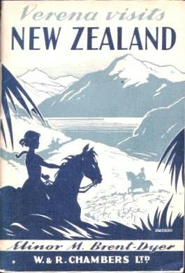 book cover of Verena visits New Zealand