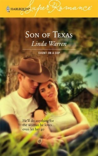 Son Of Texas Count On A Cop Book 31 By Linda Warren border=