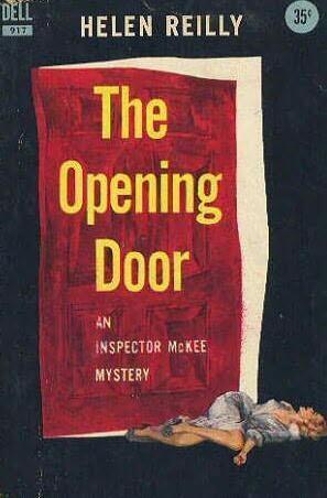 book cover of The Opening Door