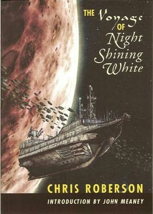 book cover of The Voyage of Night Shining White
