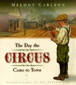 book cover of The Day the Circus Came to Town
