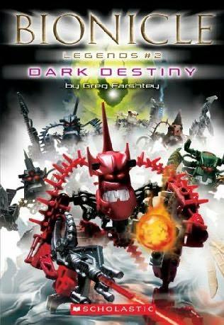 book cover of Dark Destiny