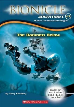 book cover of The Darkness Below