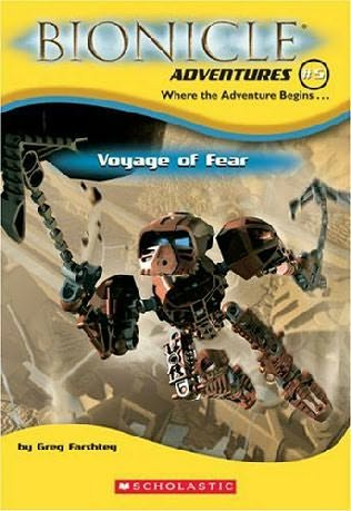 book cover of Voyage of Fear