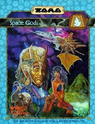 book cover of Space Gods