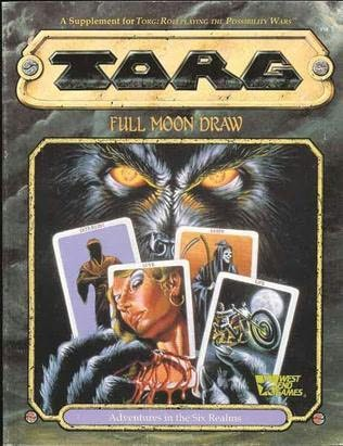 book cover of Full Moon Draw