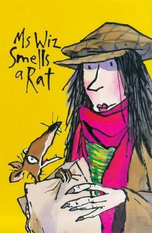 book cover of Ms Wiz Smells a Rat