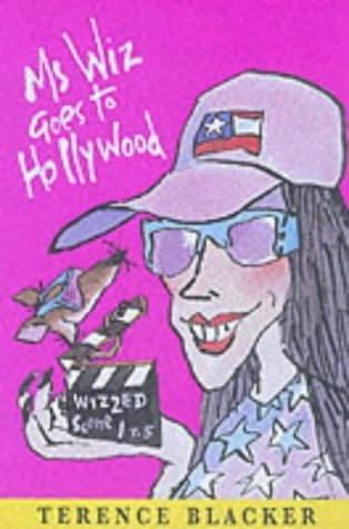 book cover of Ms Wiz Goes to Hollywood