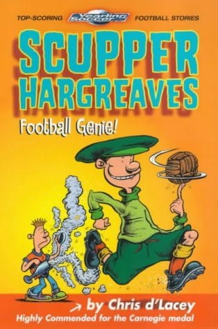 book cover of Scupper Hargreaves, Football Genie