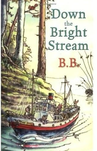 book cover of Down the Bright Stream