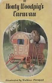 book cover of Monty Woodpig\'s Caravan