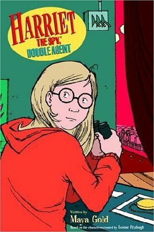 book cover of Harriet the Spy, Double Agent