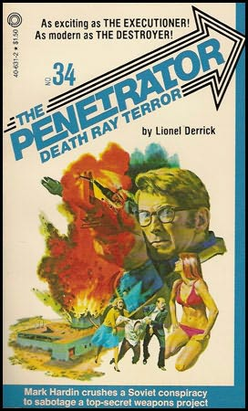 book cover of Death Ray Terror