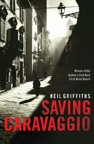 book cover of Saving Caravaggio
