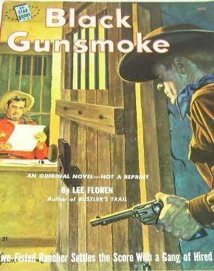 book cover of Black Gunsmoke