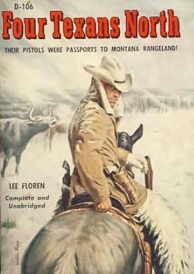 book cover of Four Texans north