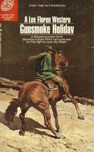 book cover of Gunsmoke Holiday