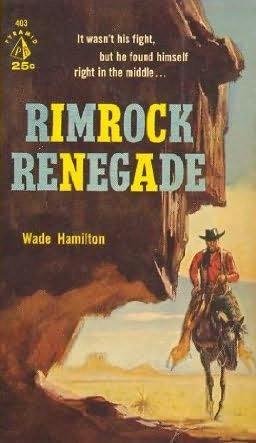 book cover of Rimrock Renegade