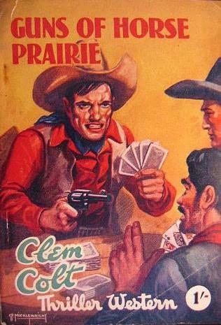 book cover of Guns of Horse Prairie