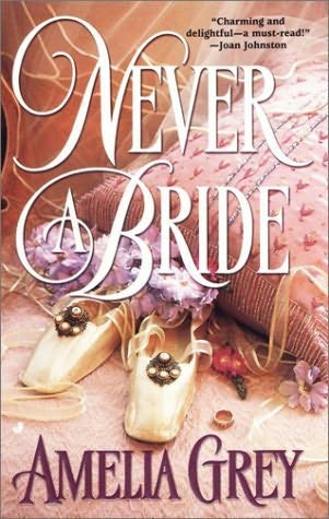 book cover of Never a Bride