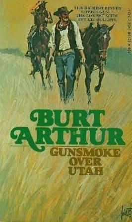 book cover of Gunsmoke Over Utah