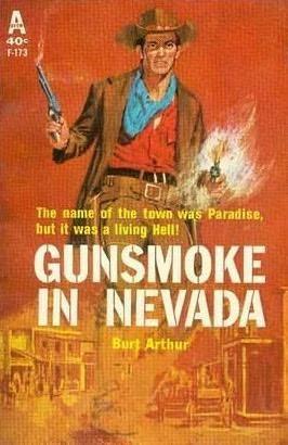 book cover of Gunsmoke in Nevada