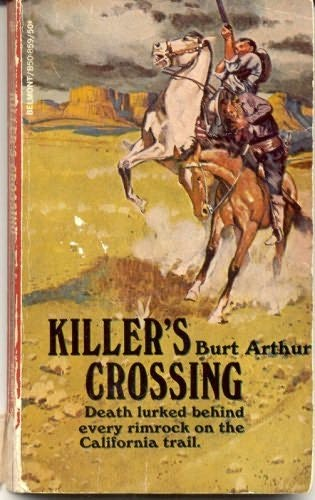 book cover of Killer\'s Crossing