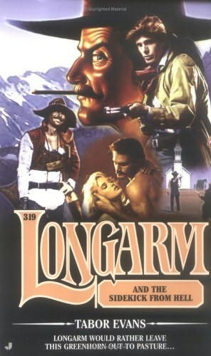 book cover of Longarm and the Sidekick from Hell