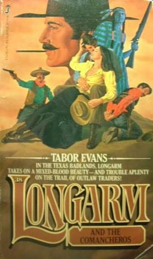 book cover of Longarm and the Comancheros