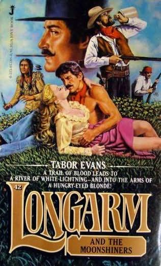 book cover of Longarm and the Moonshiners
