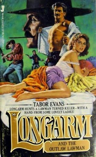 book cover of Longarm and the Outlaw Lawman
