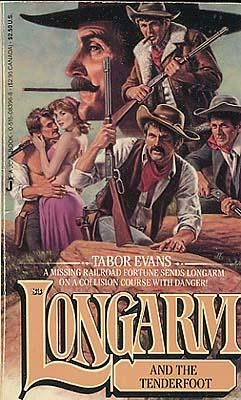 book cover of Longarm and the Tenderfoot