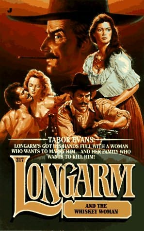 book cover of Longarm and the Whisky Woman