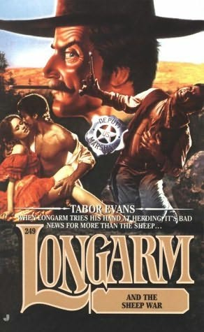 book cover of Longarm and the Sheep War