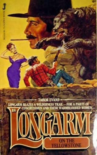 book cover of Longarm On the Yellowstone