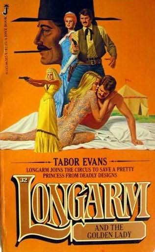 book cover of Longarm and the Golden Lady