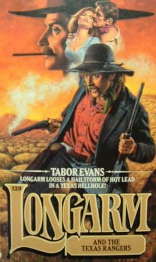 book cover of Longarm and the Texas Rangers