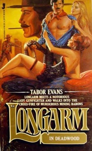 book cover of Longarm in Deadwood