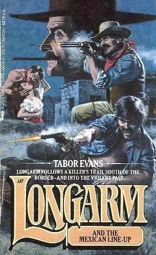 book cover of Longarm and the Mexican Line-Up