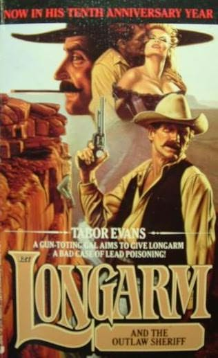 book cover of Longarm and the Outlaw Sheriff