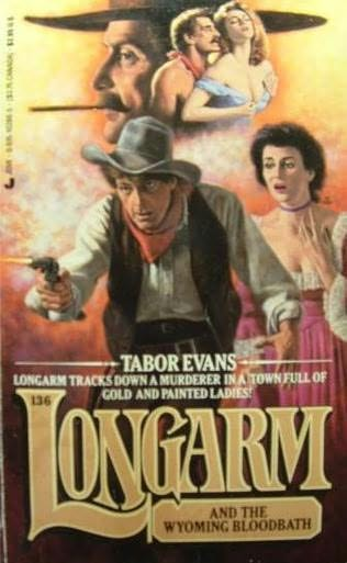 book cover of Longarm and the Wyoming Bloodbath