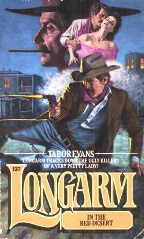 book cover of Longarm in the Red Desert