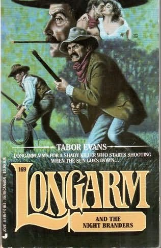 book cover of Longarm and the Night Branders