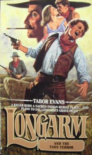 book cover of Longarm and the Taos Terror