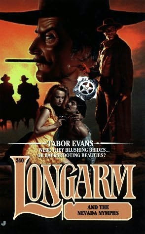 book cover of Longarm and the Nevada Nymphs