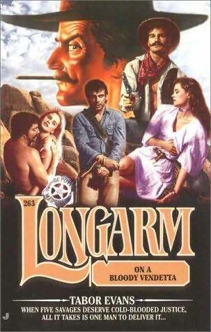 book cover of Longarm On a Bloody Vendetta