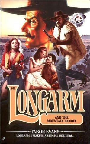 book cover of Longarm and the Mountain Bandit