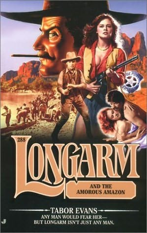 book cover of Longarm and the Amorous Amazon