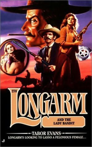 book cover of Longarm and the Lady Bandit
