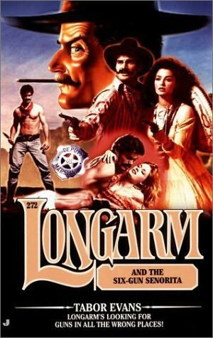 book cover of Longarm and the Six-Gun Senorita